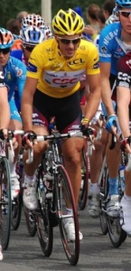 Cancellara in yellow