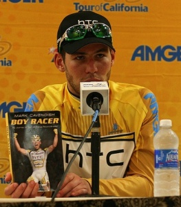 Mark Cavendish and his book