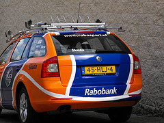 Rabobank team car