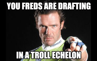 you freds are drafting in a troll echcelon