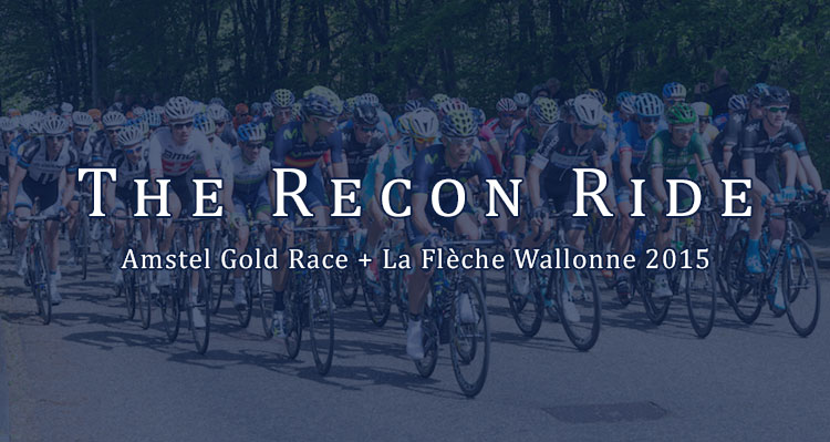 Tour of Flanders Recon Ride Podcast