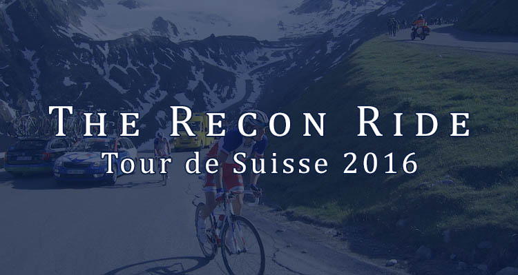 The Recon Ride Tour de Suisse 2016