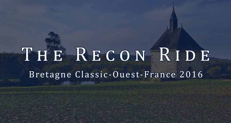 The Recon Ride Bretagne Classic - Ouest-France 2016